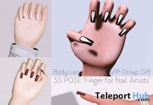 Finger Pose For Nail Artists Group Gift by Body Language Sweet Lovely Cute - Teleport Hub - teleporthub.com