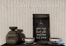 Coffee Shelf For Him Gift by Shutter Field - Teleport Hub - teleporthub.com