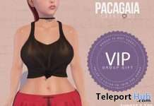 Shorts & Top VIP Group Gift by Pacagaia Creations - Teleport Hub - teleporthub.com