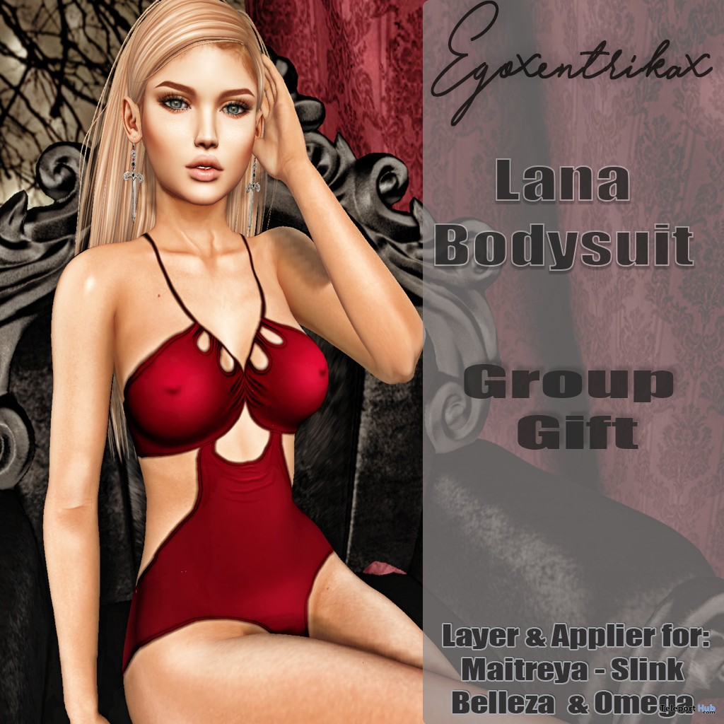 Lana Bodysuit With Appliers Group Gift by Egoxentrikax - Teleport Hub - teleporthub.com