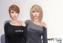 Short Hair January 2017 VIP Group Gift by TRUTH HAIR - Teleport Hub - teleporthub.com