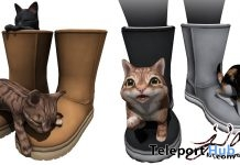 Kitten Booties Group Gift by JIAN - Teleport Hub - teleporthub.com