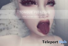 Tongue Piercing Group Gift by SALT - Teleport Hub - teleporthub.com