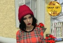 Plaid Red Dress January 2017 Group Gift by Rir Life Design - Teleport Hub - teleporthub.com