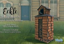 Lawton Outdoor Mailbox January 2017 Group Gift by Eckle - Teleport Hub - teleporthub.com