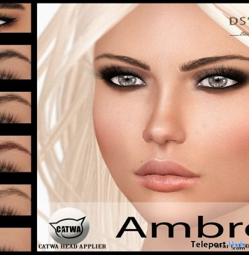 Ambre Catwa Head Applier Group Gift by DS'ELLES - Teleport Hub - teleporthub.com