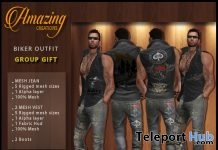 Biker Outfit 21 Group Gift by AmAzInG CrEaTiOnS - Teleport Hub - teleporthub.com