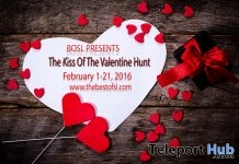 Kiss of The Valentine Hunt - Teleport Hub - teleporthub.com