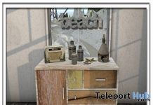 Beach Dresser Set Group Gift by Zen Creations - Teleport Hub - teleporthub.com