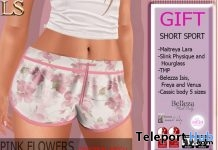 Sport Shorts 1L Promo Gift by LS - Teleport Hub - teleporthub.com
