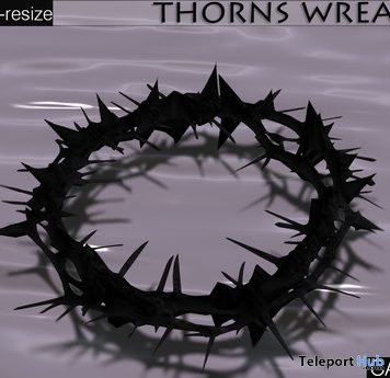 Thorns Wreath Gift by roOC Nexen's Casa Diabolica - Teleport Hub - teleporthub.com