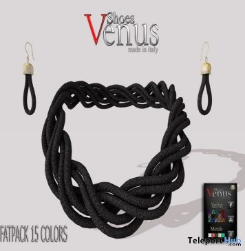 Necklace & Earrings Set Fat Pack 15 Colors Group Gift by VeNuS Shoes - Teleport Hub - teleporthub.com