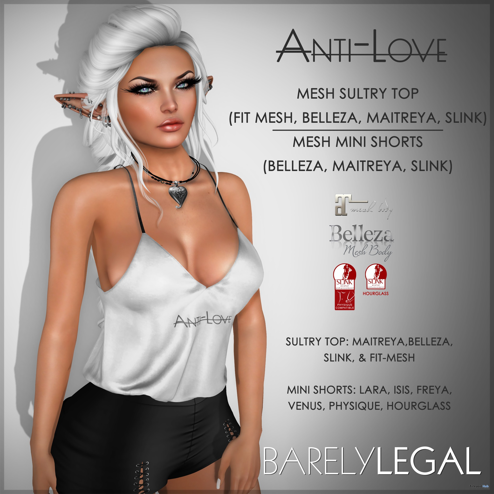 35% Savings Store Wide Sale Event by Barely Legal Couture - Teleport Hub - teleporthub.com