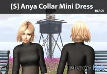 New Release: [S] Anya Collar Mini Dress by [satus Inc] - Teleport Hub - teleporthub.com