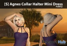 New Release: [S] Agnes Collar Halter Mini Dress by [satus Inc] - Teleport Hub - teleporthub.com
