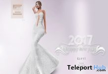Tanae Gown New Year 2017 Group Gift by Scandalize - Teleport Hub - teleporthub.com