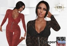 Lace Jumpsuit With Appliers Group Gift by LRS Creations - Teleport Hub - teleporthub.com