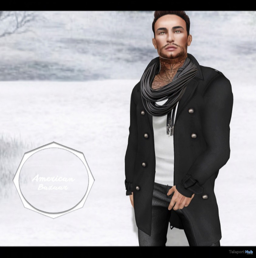 Trench Coat For Men Group Gift by AMERICAN BAZAAR - Teleport Hub - teleporthub.com