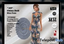 China Doll Blue Gown Group Gift by Artic Storm - Teleport Hub - teleporthub.com