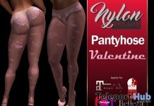 Pantyhose Valentine With Body Applier 1L Promo Gift by Nylondreams Hosiery & Lingerie - Teleport Hub - teleporthub.com