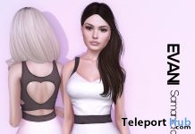 Samanta Dress Valentine Gift by EVANI - Teleport Hub - teleporthub.com