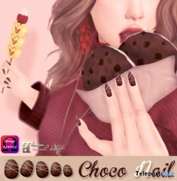 Chocolate Nails Group Gift by ASO! & Soothe. - Teleport Hub - teleporthub.com