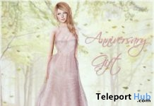 Pink Gown 30L Saturday 7th Anniversary Gift by Belle Epoque - Teleport Hub - teleporthub.com