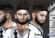 Paul Hair Fatpack Group Gift by Speakeasy - Teleport Hub - teleporthub.com