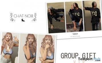 Bento Poses For Men & Women Group Gifts by CHAT NOIR - Teleport Hub - teleporthub.com