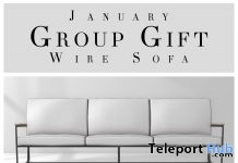 Wire Sofa Group Gift by Fancy Decor - Teleport Hub - teleporthub.com
