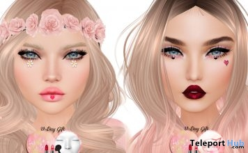 Lip Appliers 2 Colors Valentine 2017 Gift by Shiny Stuffs - Teleport Hub - teleporthub.com