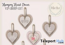 Hanging Hearts Group Gift by what next - Teleport Hub - teleporthub.com