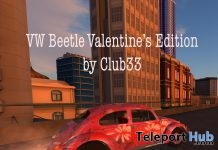 VW Valentines Beetle 1970 Car Sydney City Group Gift by RaC - Teleport Hub - teleporthub.com