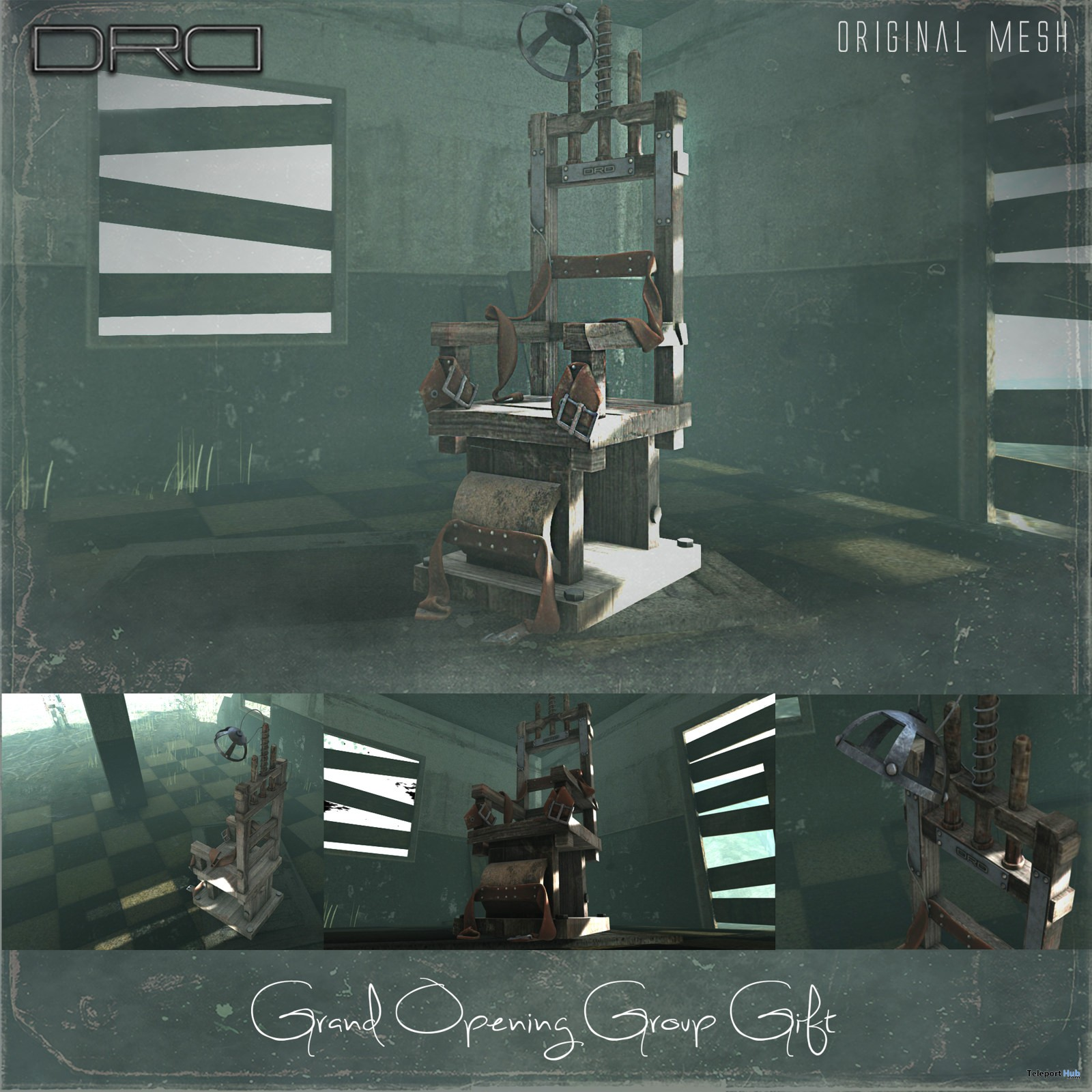 Electric Chair Store Remodeling Grand Opening Group Gift by DRD - Teleport Hub - teleporthub.com