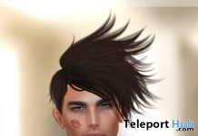 Undercut Hair Frizzy Chic Line Fat Pack Group Gift by Tableau Vivant - Teleport Hub - teleporthub.com