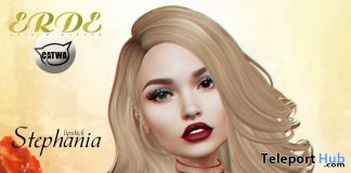 Stephania Lipstick For Catwa Head Group Gift by ERDE - Teleport Hub - teleporthub.com