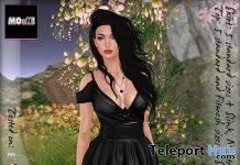 Julia Dress Black Promo by MOoH! - Teleport Hub - teleporthub.com