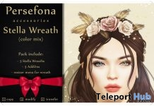 Stella Wreath (Color Mix) Group Gift by Persefona - Teleport Hub - teleporthub.com