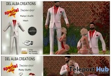 Ruby & Rubyn Outfit 100L Valentine Promo by Del Alba Creations - Teleport Hub - teleporthub.com
