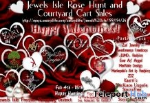Jewels Isle SimWide Valentine Rose Hunt/Cart Sales - Teleport Hub - teleporthub.com