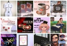 Several Group Gifts At The Gacha Garden February 2017 Round by Various Designers - Teleport Hub - teleporthub.com