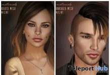 Pippa & Yann Hair For Men & Women Group Gifts by MINA Hair - Teleport Hub - teleporthub.com