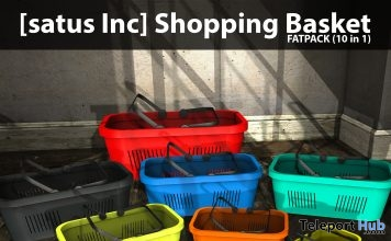 New Release: Shopping Basket Fatpack 10 in 1 by [satus Inc] - Teleport Hub - teleporthub.com
