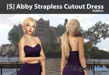 New Release: [S] Abby Strapless Cutout Dress by [satus Inc] - Teleport Hub - teleporthub.com