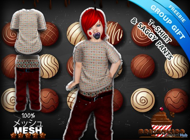 T-Shirt & Saggy Pants Group Gift by Brigadeiro - Teleport Hub - teleporthub.com