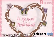 In My Heart Photo Wreath Group Gift by Buglets - Teleport Hub - teleporthub.com