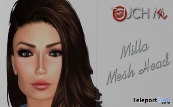 Milla Mesh Head The Peppers Expo Group Gift by Touch Me - Teleport Hub - teleporthub.com