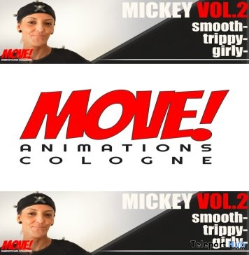 New Release: Mickey Vol 2 Dance Pack by MOVE! Animations Cologne - Teleport Hub - teleporthub.com