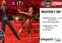 Be My Valentine Outfits For Guys & Girls Group Gift by Loca como tu Madre - Teleport Hub - teleporthub.com