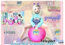 Jumping Set 5 Colors Pack Group Gift by NS - Teleport Hub - teleporthub.com